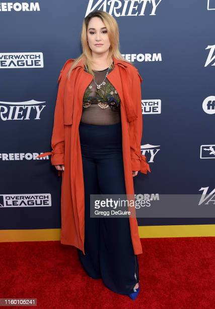 Emma Hunton attends Variety's Power Of Young Hollywood at The H Club Los Angeles on August 6 2019 in Los Angeles California