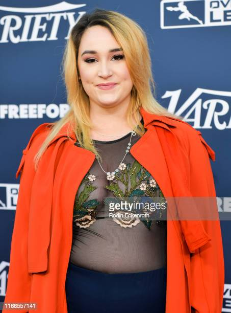 Emma Hunton attends Variety's Power of Young Hollywood at The H Club Los Angeles on August 06 2019 in Los Angeles California