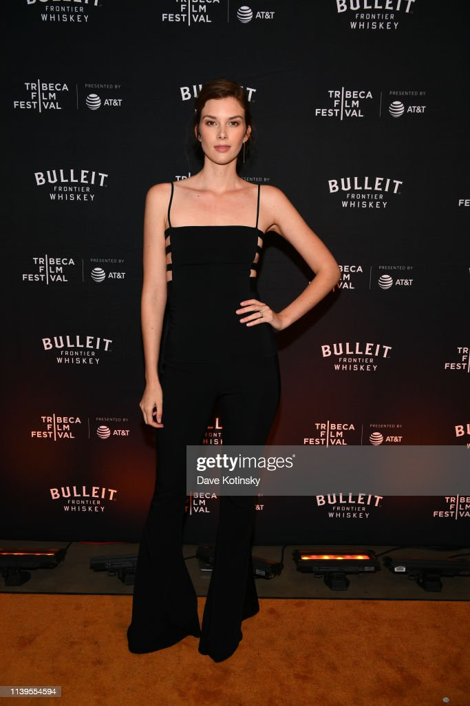 Tribeca Film Festival After-Party For Crown Vic Hosted By Bulleit At The Bulleit 3D Printed Frontier Lounge : Nachrichtenfoto