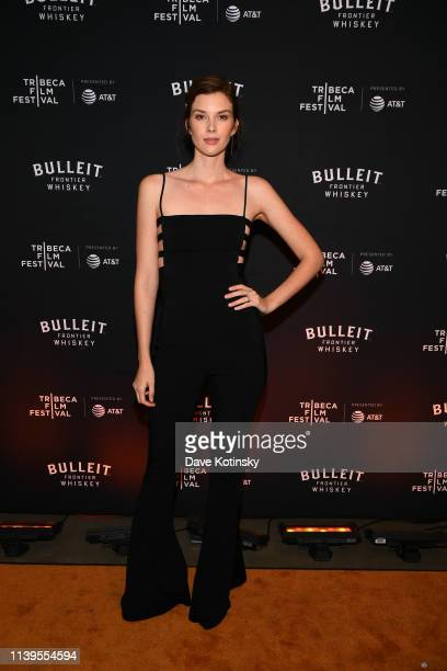 Emma Ishta attends the Tribeca Film Festival AfterParty For Crown Vic Hosted By Bulleit at Bulleit Lounge on April 26 2019 in New York City