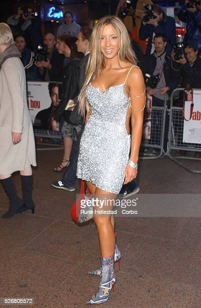 Emma Jones attends the London premiere of the movie About A Boy