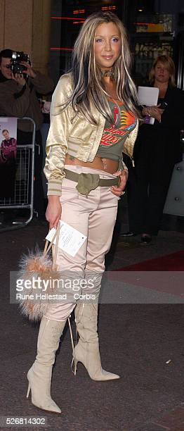 Emma Jones attends the premiere of Seeing Double at Warner cinema in Leicester Square