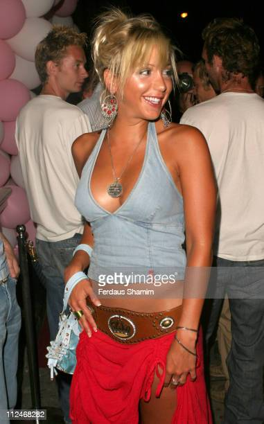 Emma Jones during Linsey Dawn McKenzie's Birthday Party at Neils in London Great Britain