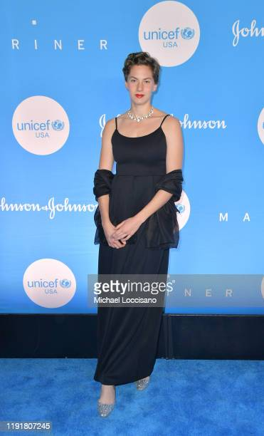 Emma Kathleen Ferrer at the 15th Annual UNICEF Snowflake Ball 2019 at 60 Wall Street Atrium on December 03 2019 in New York City