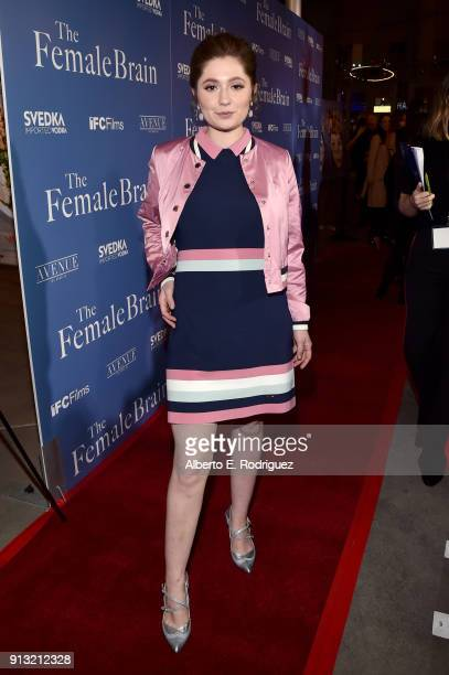Emma Kenney attends the premiere of IFC Films' 'The Female Brain' at ArcLight Hollywood on February 1 2018 in Hollywood California