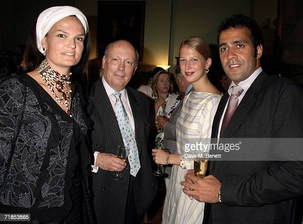 Emma KitchenerFellowes Julian Fellowes Gabriella Windsor and partner Aatish Taseer attend the book launch party of 'A History of the EnglishSpeaking...