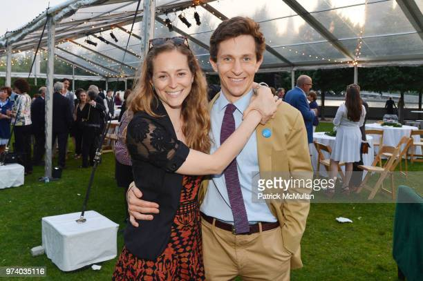 Emma Levine and Nicholas Tapert attend the Franklin D Roosevelt Four Freedoms Park's gala honoring Founder Ambassador William J Vanden Heuvel at...