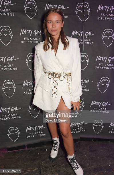 Emma Louise Connolly attends the launch of Nasty Gal Ft Cara Delevingne a collection of holidayready pieces inspired by female rock icons of the ages...
