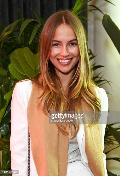 Emma Louise Connolly attends the Topman LFWM party at Mortimer House on January 7 2018 in London England