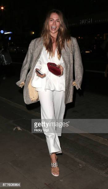 Emma Louise Connolly seen attending Lipsy London VIP winter dinner held at Rosewood London on November 22 2017 in London England