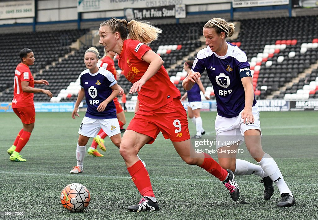 WSL 1: Liverpool Ladies FC v Doncaster Rovers Belles : News Photo