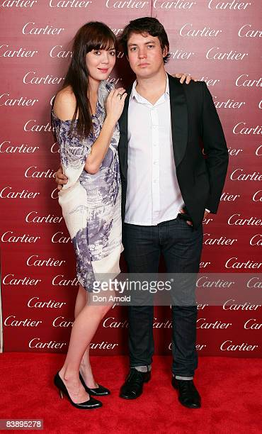 Emma Lung and Kim Castle arrive for the Cartier Christmas Party at the Cartier Boutique on December 3 2008 in Sydney Australia