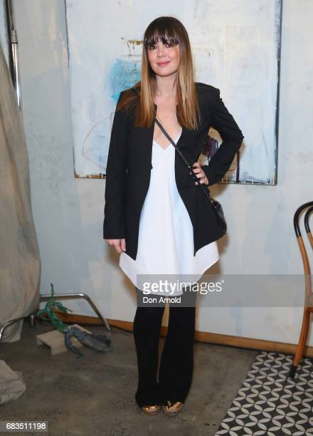 Emma Lung arrives ahead of the Acler X Myer lunch at No 1 Bent Street on May 16 2017 in Sydney Australia