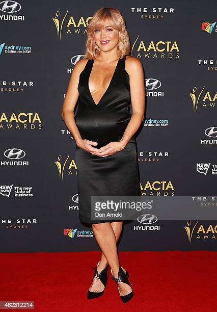 Emma Lung arrives at the 4th AACTA Awards Luncheon at The Star on January 27, 2015 in Sydney, Australia.