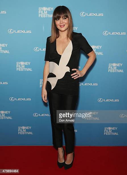 Emma Lung arrives at the Sydney Film Festival Opening Night Gala at the State Theatre on June 3 2015 in Sydney Australia