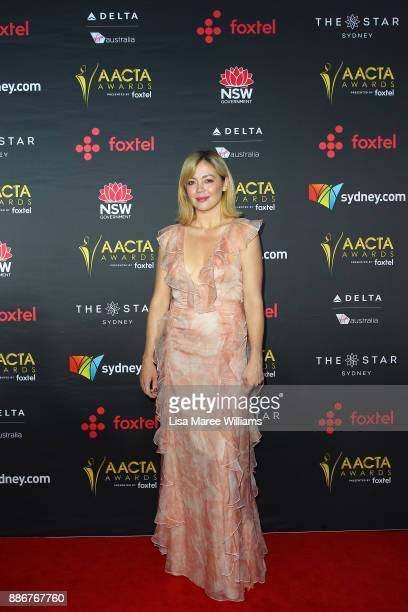 Emma Lung attends the 7th AACTA Awards Presented by Foxtel | Ceremony at The Star on December 6 2017 in Sydney Australia