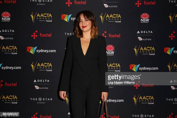 Emma Lung attends the 7th AACTA Awards Presented by Foxtel | Industry Luncheon at The Star on December 4 2017 in Sydney Australia