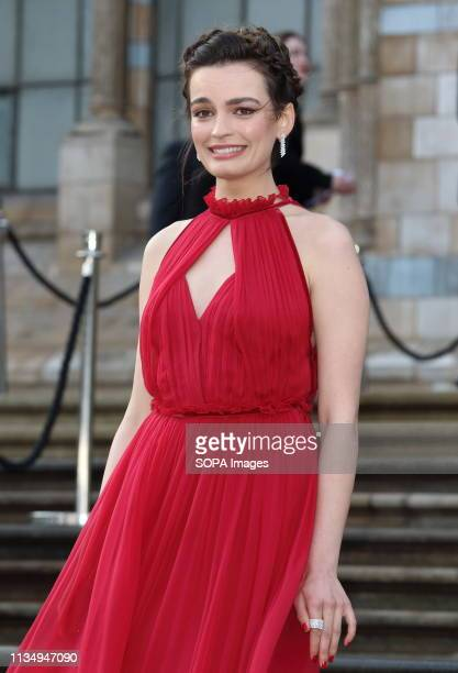 Emma Mackey arrives for the World Premiere of Netflix's Our Planet at the Natural History Museum Kensington