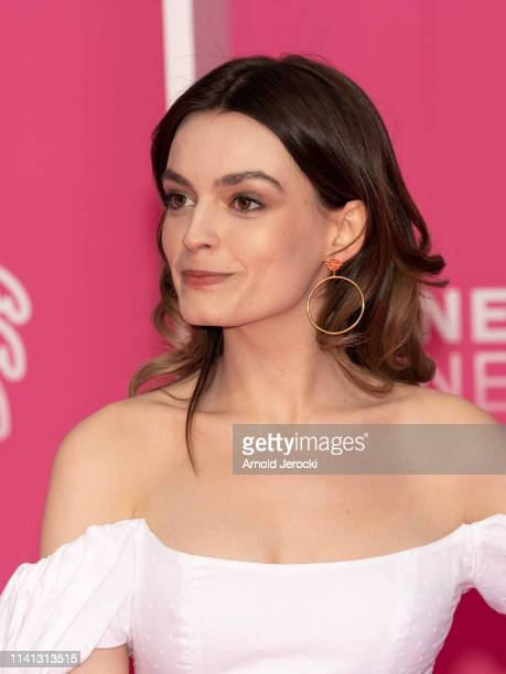 Emma Mackey attends day four of the 2nd Canneseries International Series Festival on April 08 2019 in Cannes France