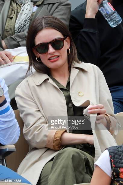 Emma Mackey attends the 2019 French Tennis Open Day Fourteen at Roland Garros on June 08 2019 in Paris France