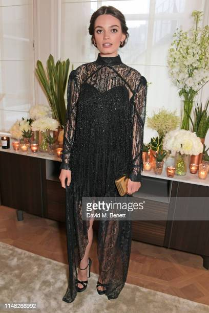 Emma Mackey attends the Cartier and British Vogue Darlings Dinner at the Residence at Cartier New Bond Street on June 5, 2019 in London, England.
