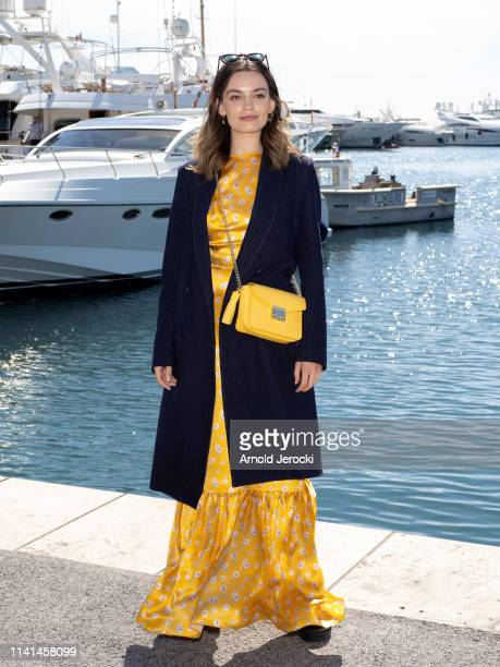 Emma Mackey attends the Jury photocall on day five of the 2nd Canneseries International Series Festival on April 09 2019 in Cannes France