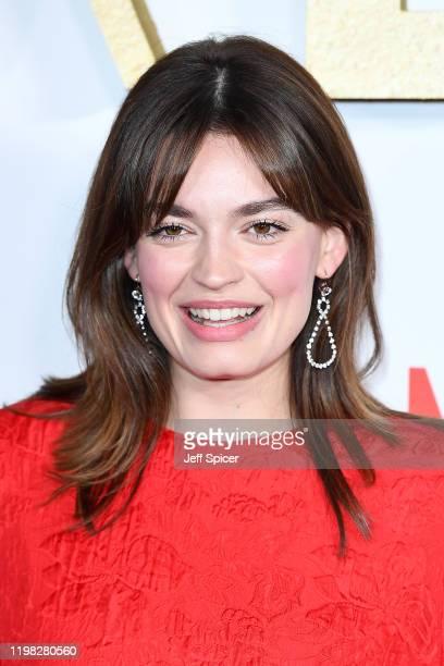 Emma Mackey attends the Sex Education Season 2 World Premiere at Genesis Cinema on January 08 2020 in London England