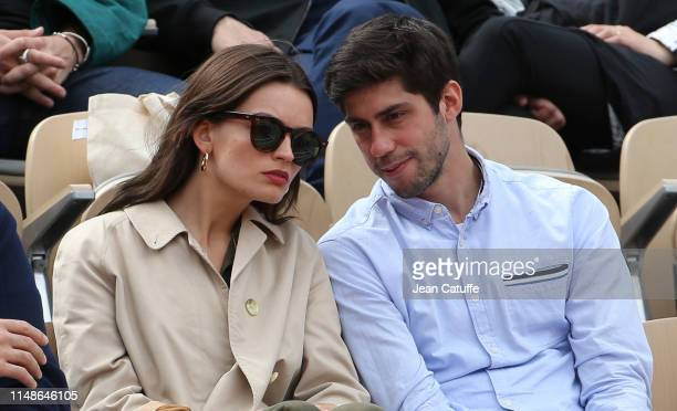 Emma Mackey attends the women's final during day 14 of the 2019 French Open at Roland Garros stadium on June 8 2019 in Paris France