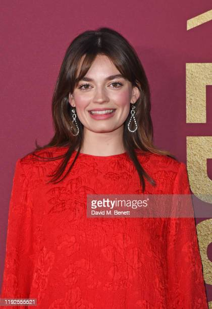 Emma Mackey attends the World Premiere of Netflix's Sex Education Season 2 at The Genesis Cinema on January 8 2020 in London England