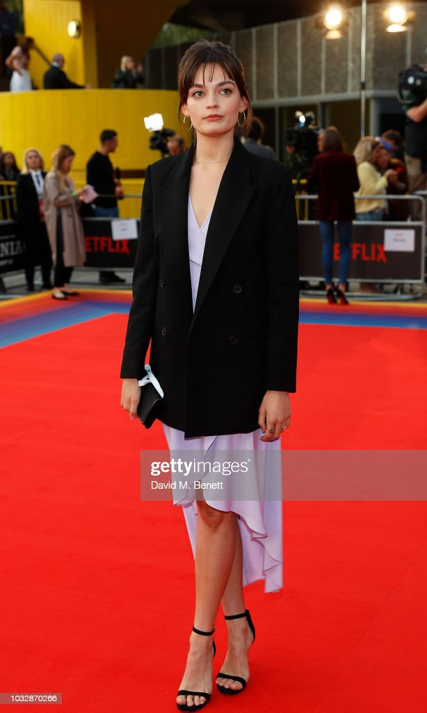 Emma Mackey attends the World Premiere of the new Netflix ...