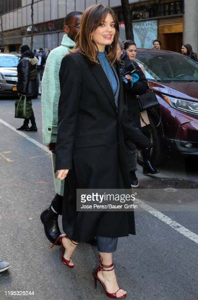Emma Mackey is seen on January 22, 2020 in New York City.