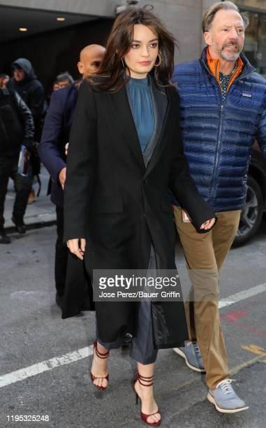 Emma Mackey is seen on January 22 2020 in New York City