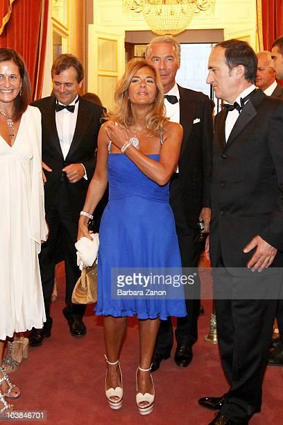 Emma Marcegaglia and husband attend the Premio Campiello on September 4, 2010 in Venice, Italy.