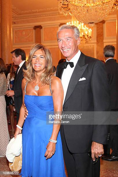 Emma Marcegaglia and husband attend the Premio Campiello on September 4 2010 in Venice Italy