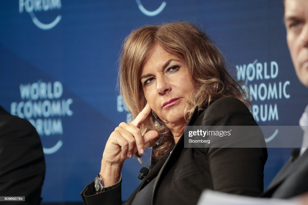 Day Two Of The World Economic Forum (WEF) 2018 : News Photo