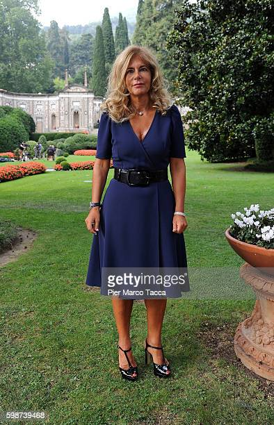 Emma Marcegaglia President of ENI poses during Ambrosetti International Forum on September 2 2016 in Cernobbio near Como Italy 'Intelligenge on the...