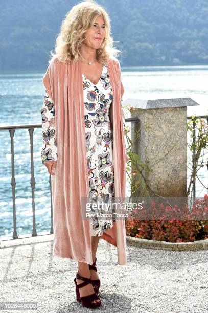 Emma Marcegaglia President of ENI poses during the Ambrosetti International Economic Forum 2018 on September 7 2018 in Como Italy 'The scenario of...