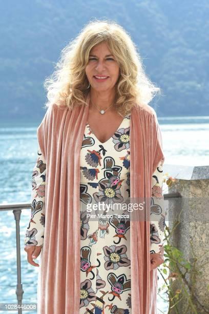 Emma Marcegaglia, President of ENI poses during the Ambrosetti International Economic Forum 2018 on September 7, 2018 in Como, Italy. 'The scenario...