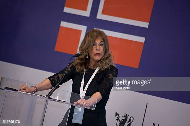 Emma Marcegaglia takes part in ItalianNorwegian Energy Dialogue in Milan on April 8th 2016