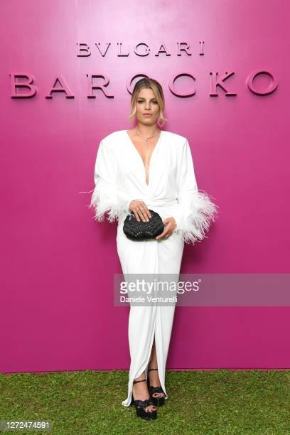 Emma Marrone attends Bulgari Barocco on September 14, 2020 in Rome, Italy.