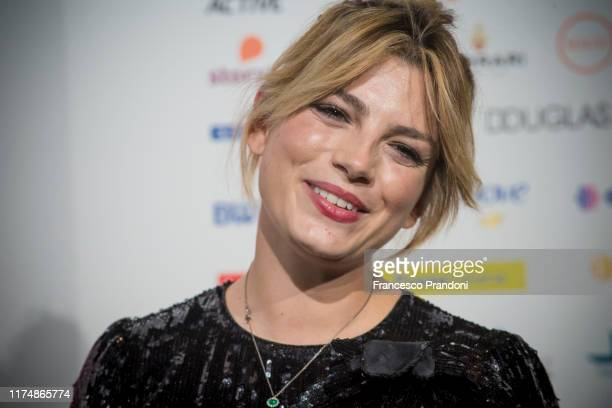 Emma Marrone attends Il Tempo Delle Donne Festival in Milan at Triennale Design Museum on September 15 2019 in Milan Italy