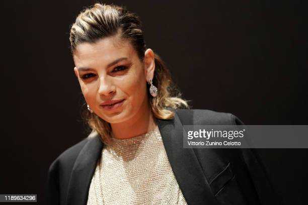 Emma Marrone attends the Vanity Fair Stories 2019 Awards Photocall at The Space Cinema Odeon on November 23 2019 in Milan Italy
