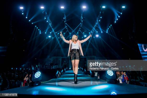 Emma Marrone Performs In Concert on March 1 2019 in Rome Italy