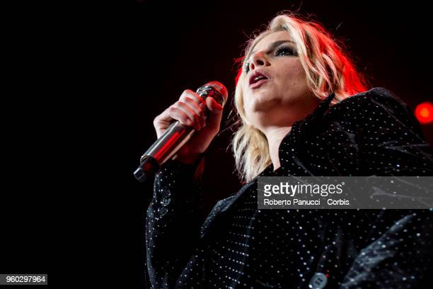 Emma Marrone performs on May 16 2018 in Rome Italy