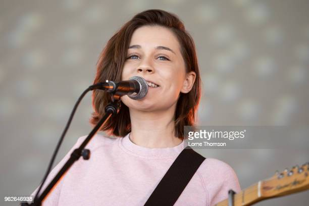 Emma McGrath performs at BBC Radio The Biggest Weekend at Scone Palace on May 26 2018 in Perth Scotland