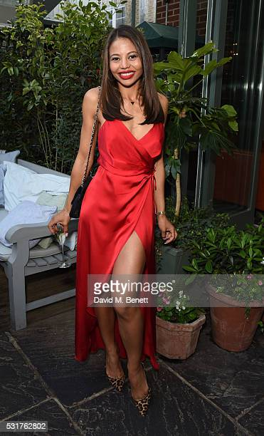 Emma McQuiston Lady Weymouth attends The Ivy Chelsea Garden's 'A Year In The Garden' party on May 16 2016 in London England