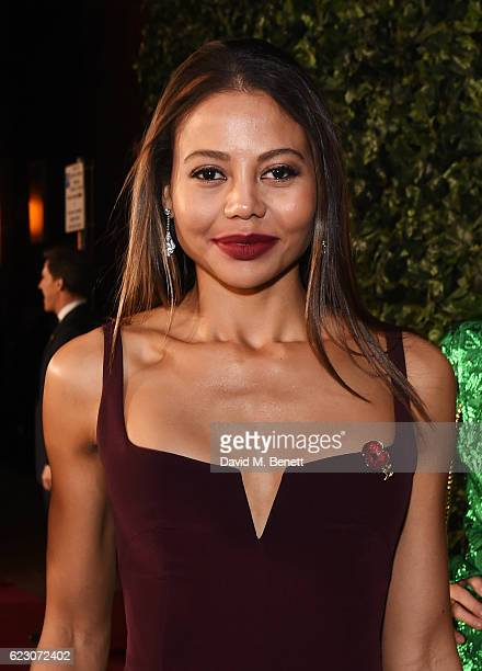 Emma McQuiston Viscountess of Weymouth arrives at The 62nd London Evening Standard Theatre Awards recognising excellence from across the world of...