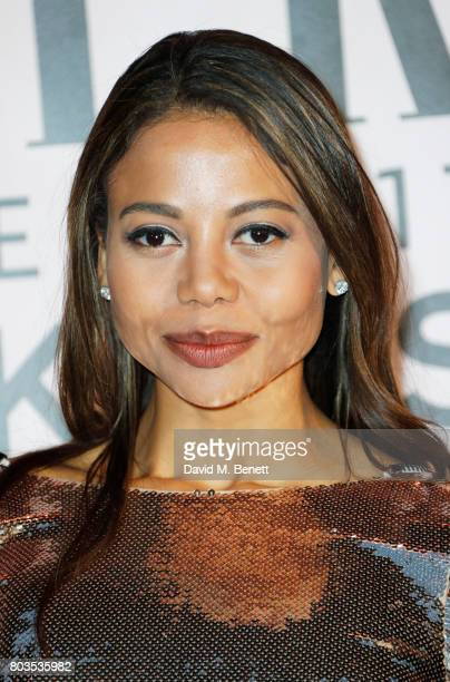 Emma McQuiston Viscountess of Weymouth attends Tatler's English Roses 2017 in association with Michael Kors at the Saatchi Gallery on June 29 2017 in...