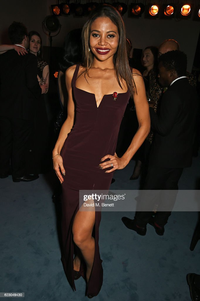 Emma McQuiston, Viscountess of Weymouth, attends The 62nd London Evening Standard Theatre Awards after party, recognising excellence from across the world of theatre and beyond, at The Old Vic Theatre on November 13, 2016 in London, England.