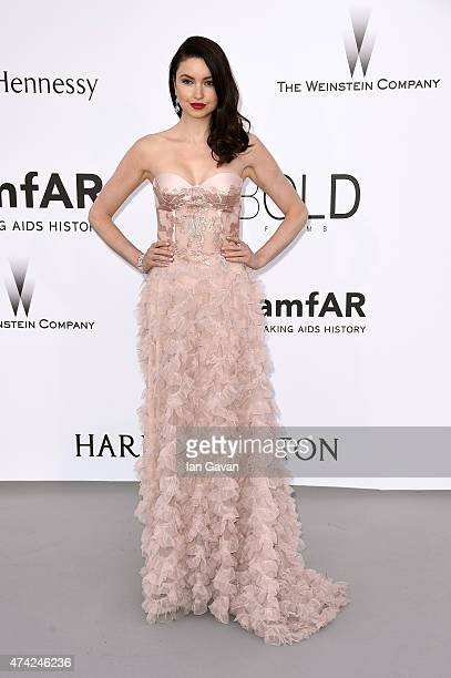 Emma Miller attends amfAR's 22nd Cinema Against AIDS Gala Presented By Bold Films And Harry Winston at Hotel du CapEdenRoc on May 21 2015 in Cap...
